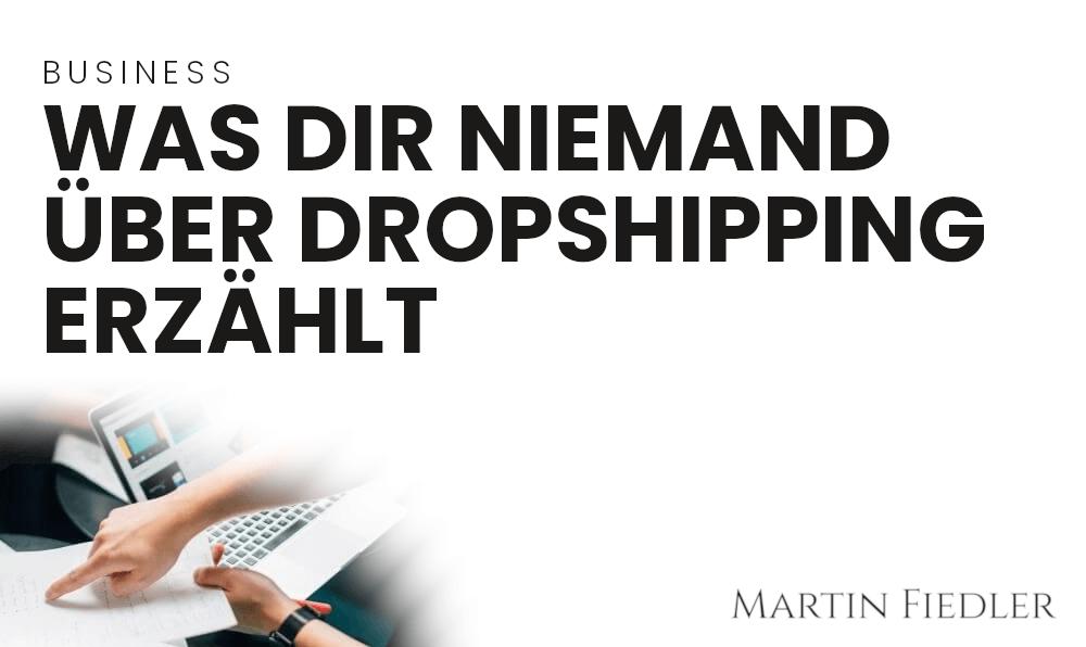 Was dir niemand über Dropshipping erzählt [Zoll, Steuern, Produkthaftung, …]